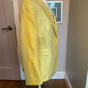 Akris yellow blazer